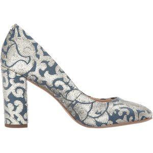Sam Edelman Women's Blue Stillson Pump Size 10W
